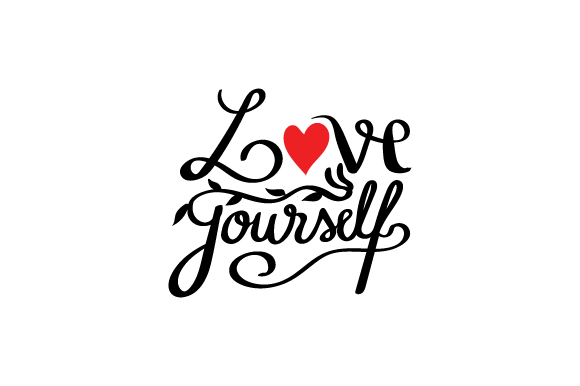 Download Free Love Yo Self Svg Cut File By Creative Fabrica Crafts Creative for Cricut Explore, Silhouette and other cutting machines.