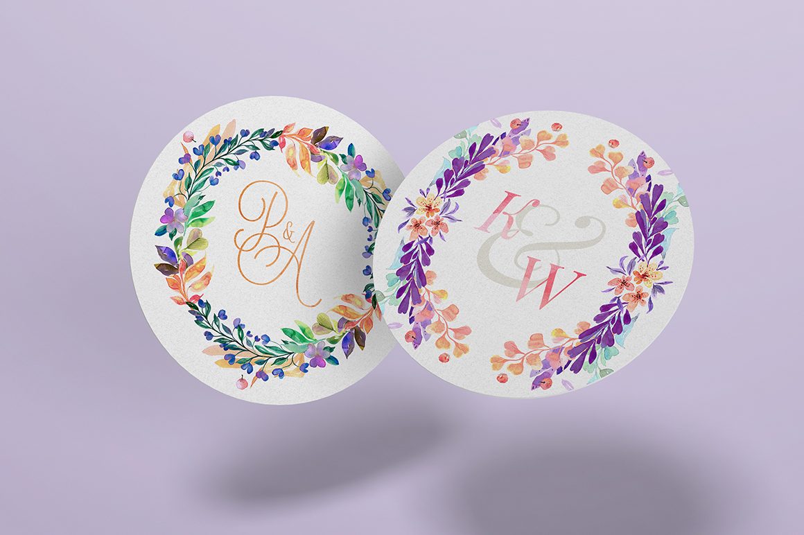 Lovely Hearts Monograms
