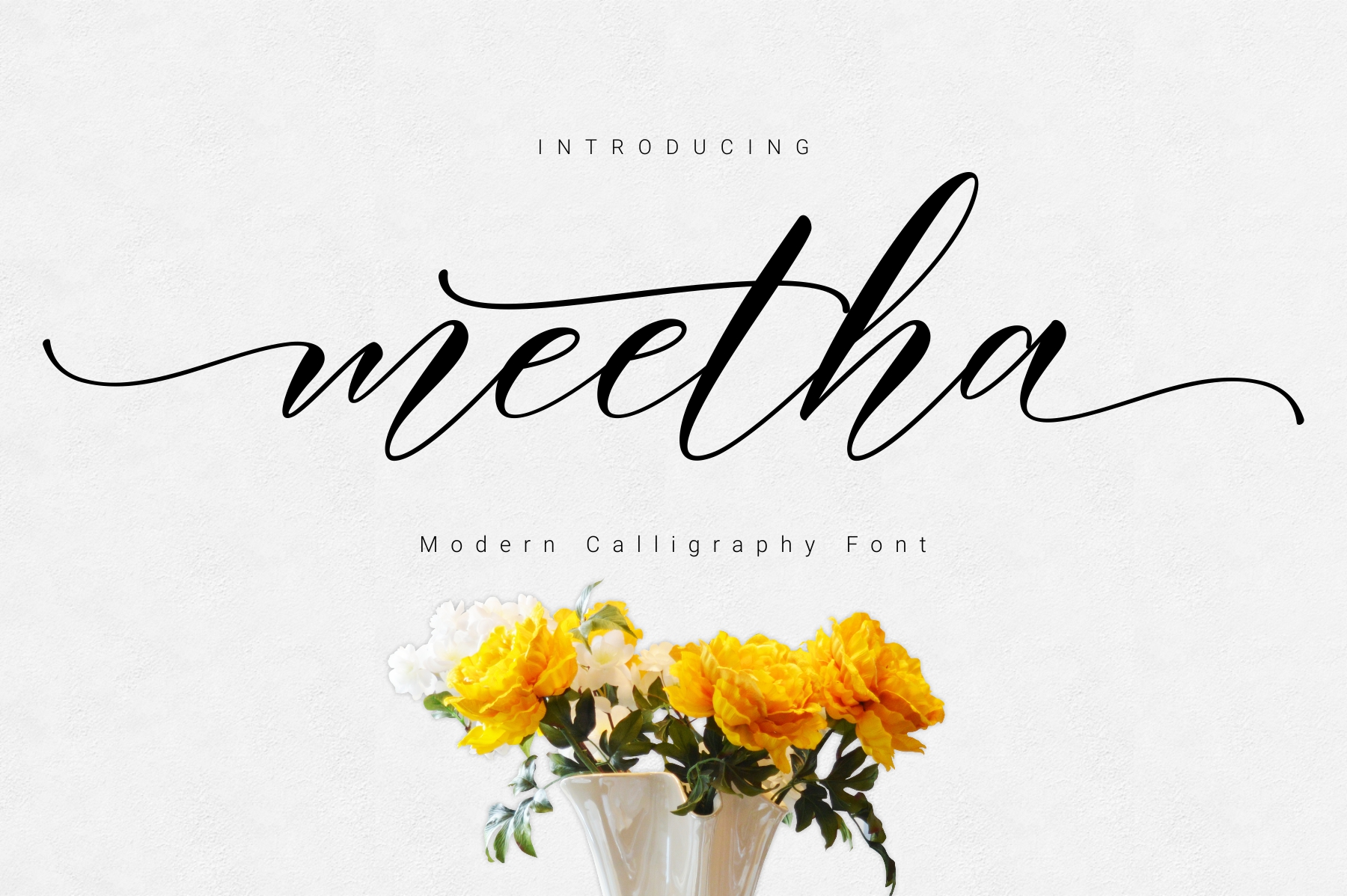 Print on Demand: Meetha Script & Handwritten Font By FadeLine