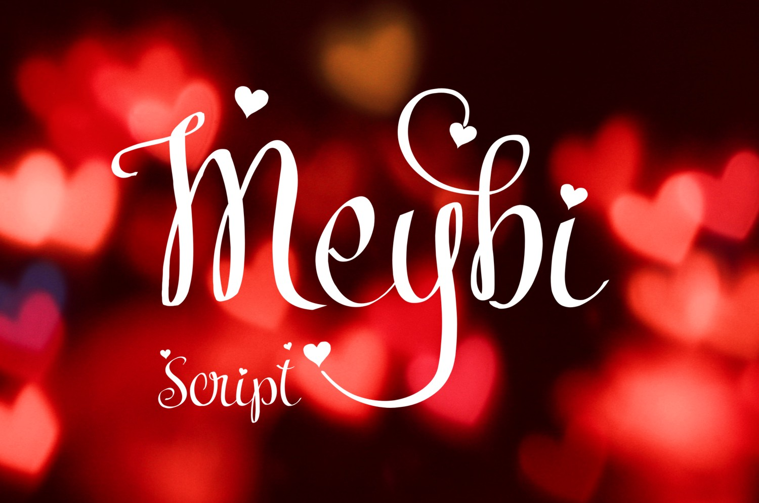 Print on Demand: Meybi Script & Handwritten Font By Eva Barabasne Olasz