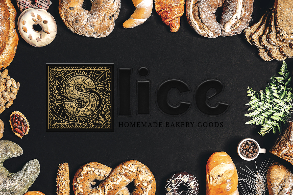 Print on Demand: Monogram Font Family Decorative Font By Red Ink - Image 10