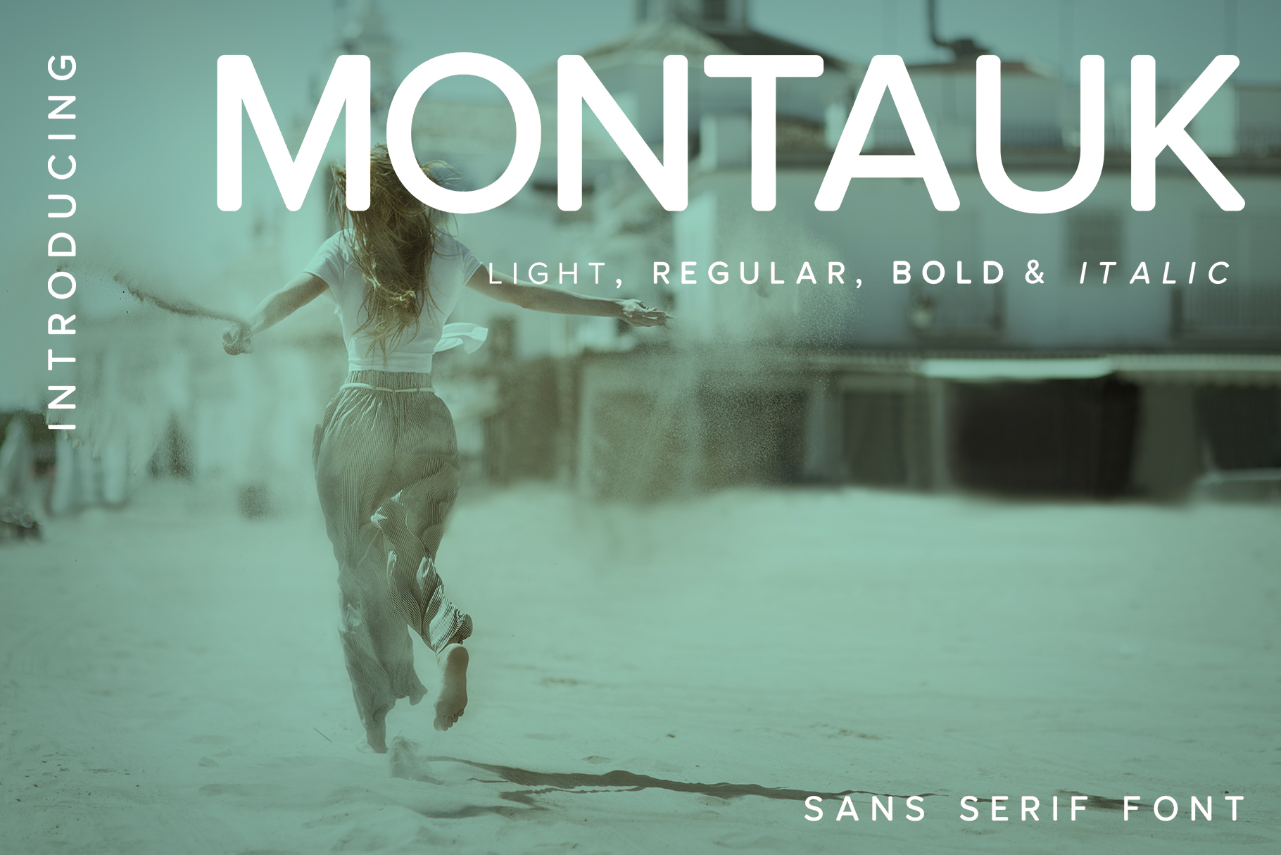 Download Free Montauk Font By Spasova Creative Fabrica for Cricut Explore, Silhouette and other cutting machines.