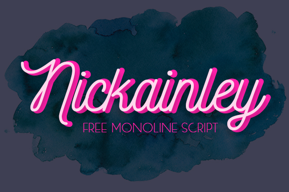 Download Free Nickainley Font By Seniors Studio Creative Fabrica for Cricut Explore, Silhouette and other cutting machines.