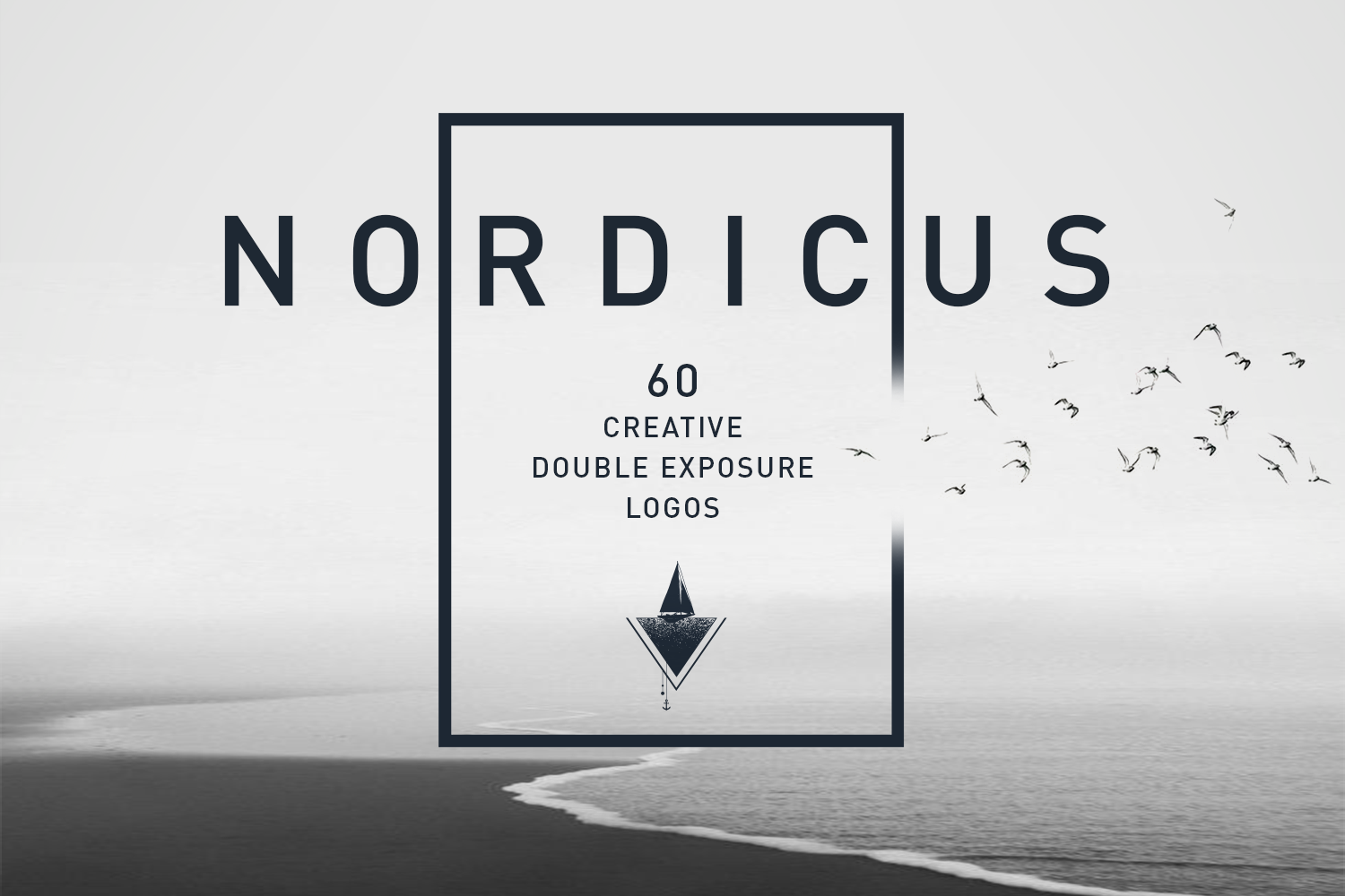 Print on Demand: Nordicus. 60 Creative Logos Graphic Logos By Cosmic Store