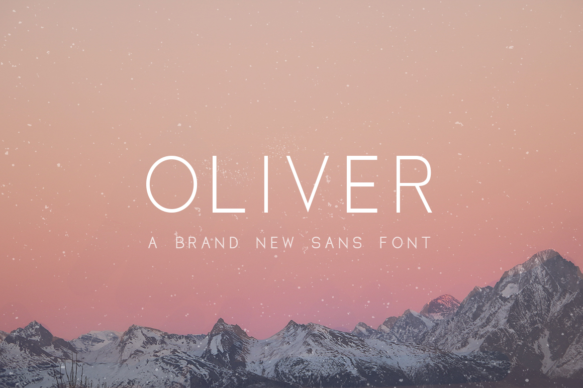 Print on Demand: Oliver Sans Serif Font By Salt & Pepper Designs
