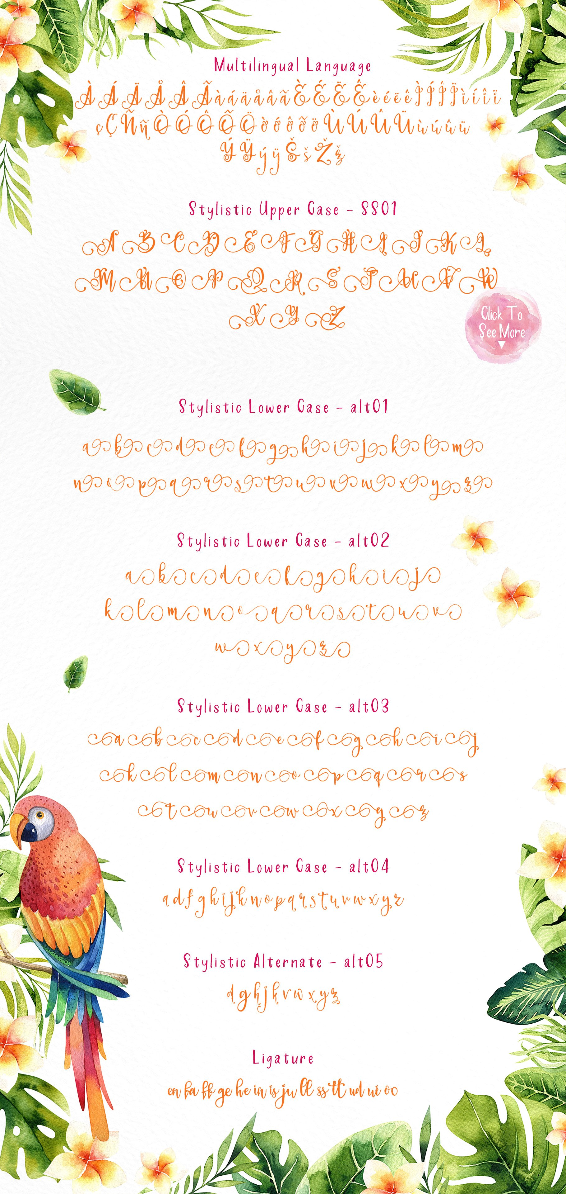 Paradiso Duo Font By fontsgood Image 8