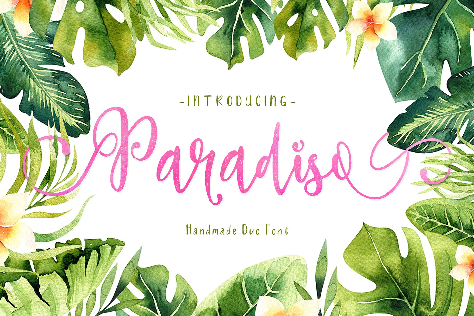 Print on Demand: Paradiso Duo Script & Handwritten Font By fontsgood