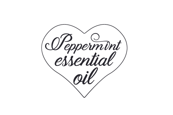 Peppermints Essential Oil Svg Cut File By Creative Fabrica
