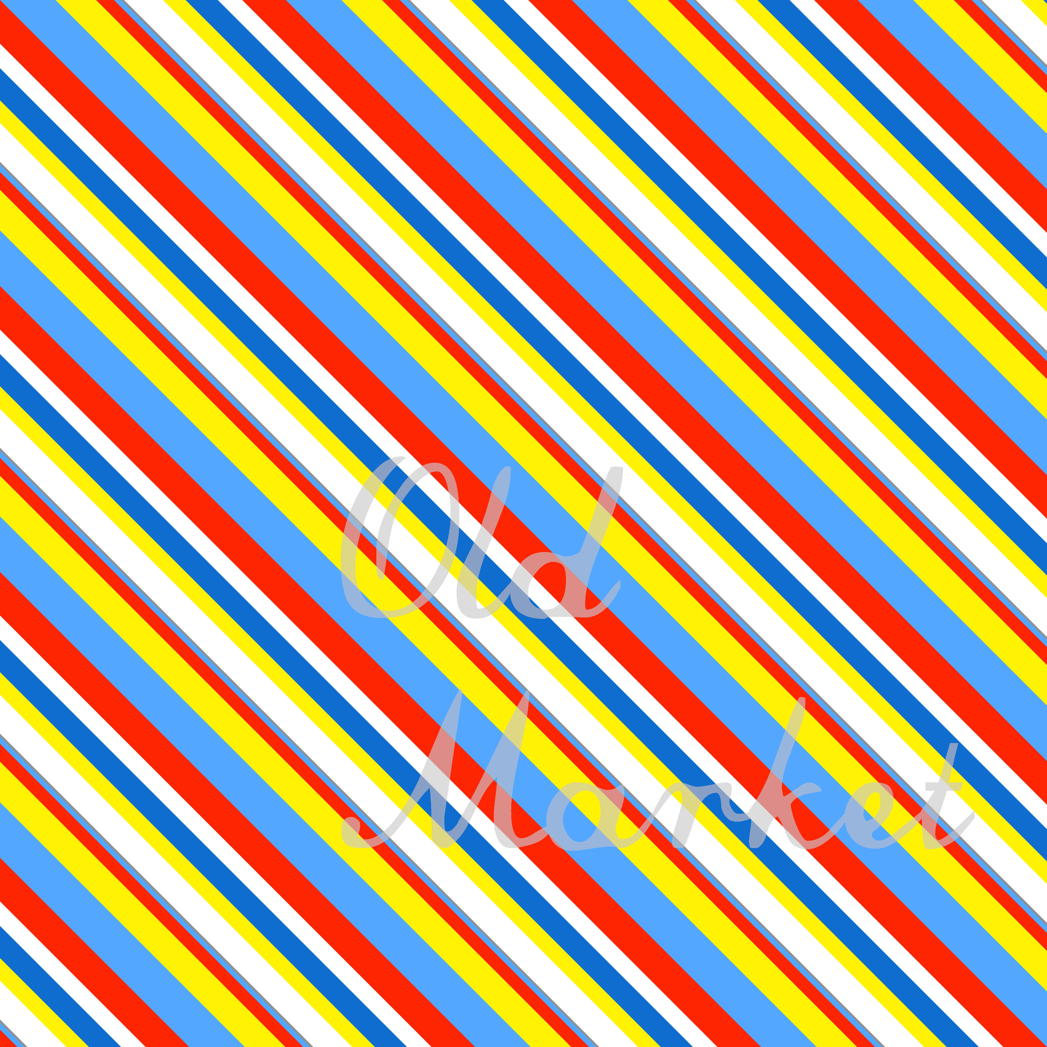Primary Color Fun Digital Paper Graphic Backgrounds By oldmarketdesigns - Image 3