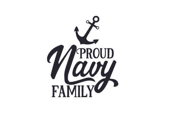 Proud Navy Family Military Craft Cut File By Creative Fabrica Crafts
