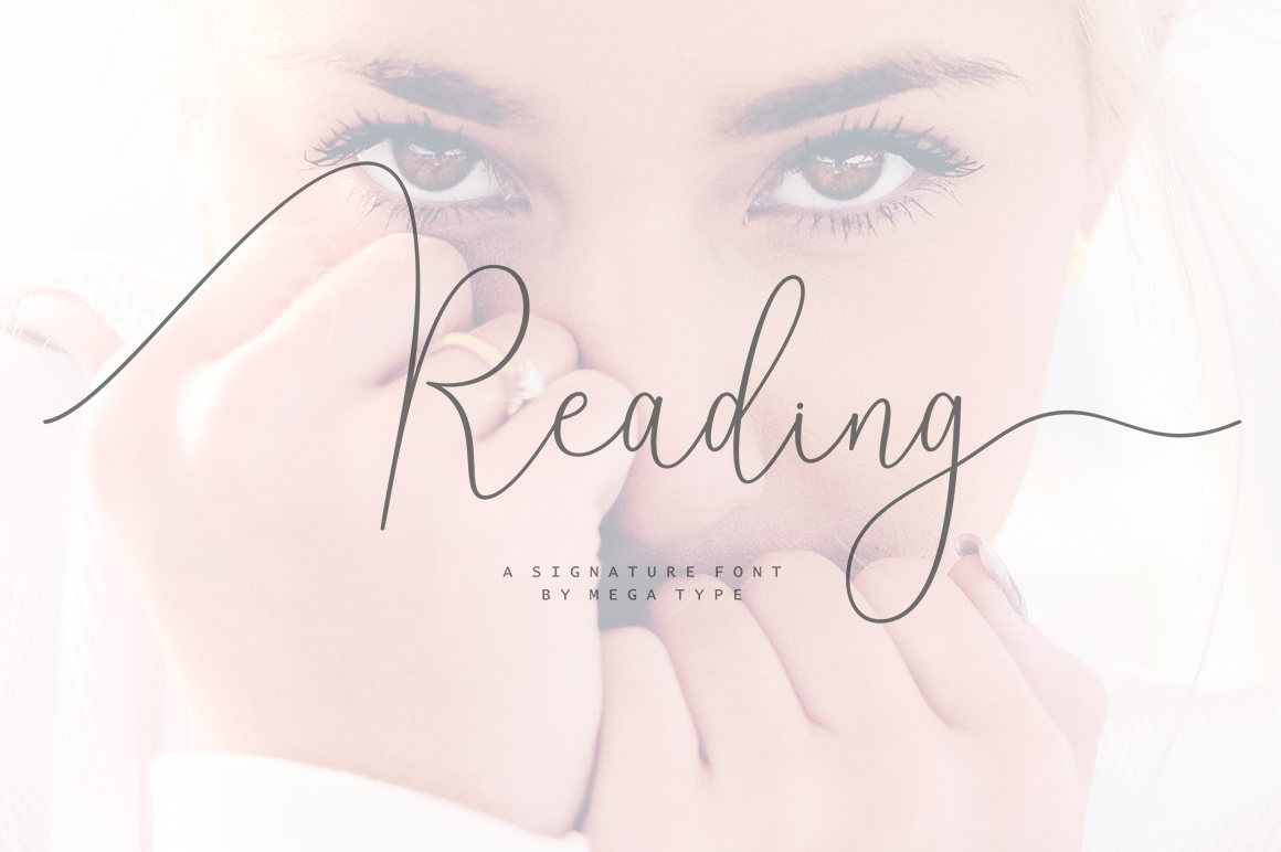 Print on Demand: Reading Script & Handwritten Font By Megatype