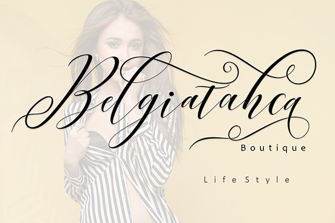 Print on Demand: Right Side Script & Handwritten Font By No Gravity Type - Image 2