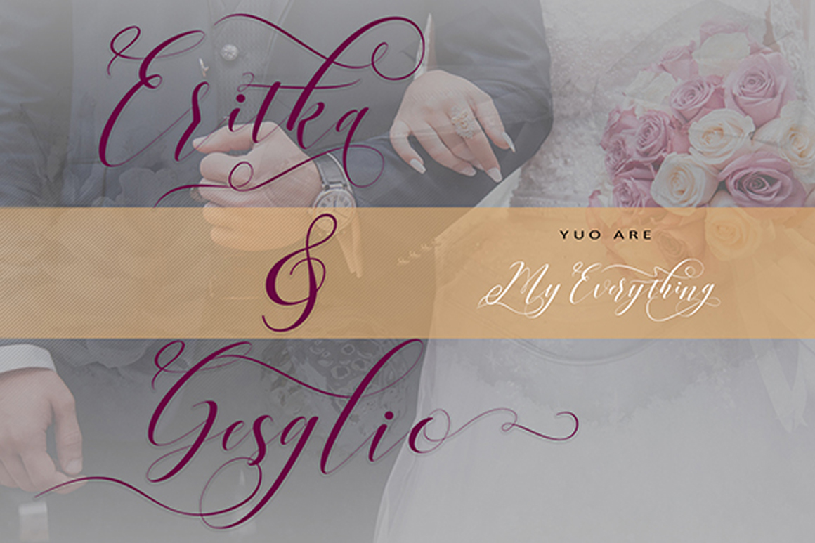 Print on Demand: Right Side Script & Handwritten Font By No Gravity Type - Image 3