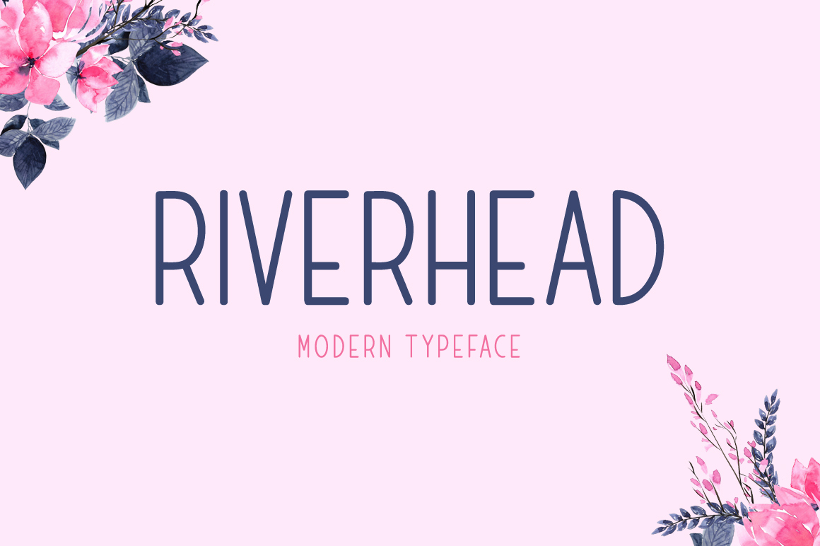 Print on Demand: Riverhead Display Font By Contour Fonts - Image 1