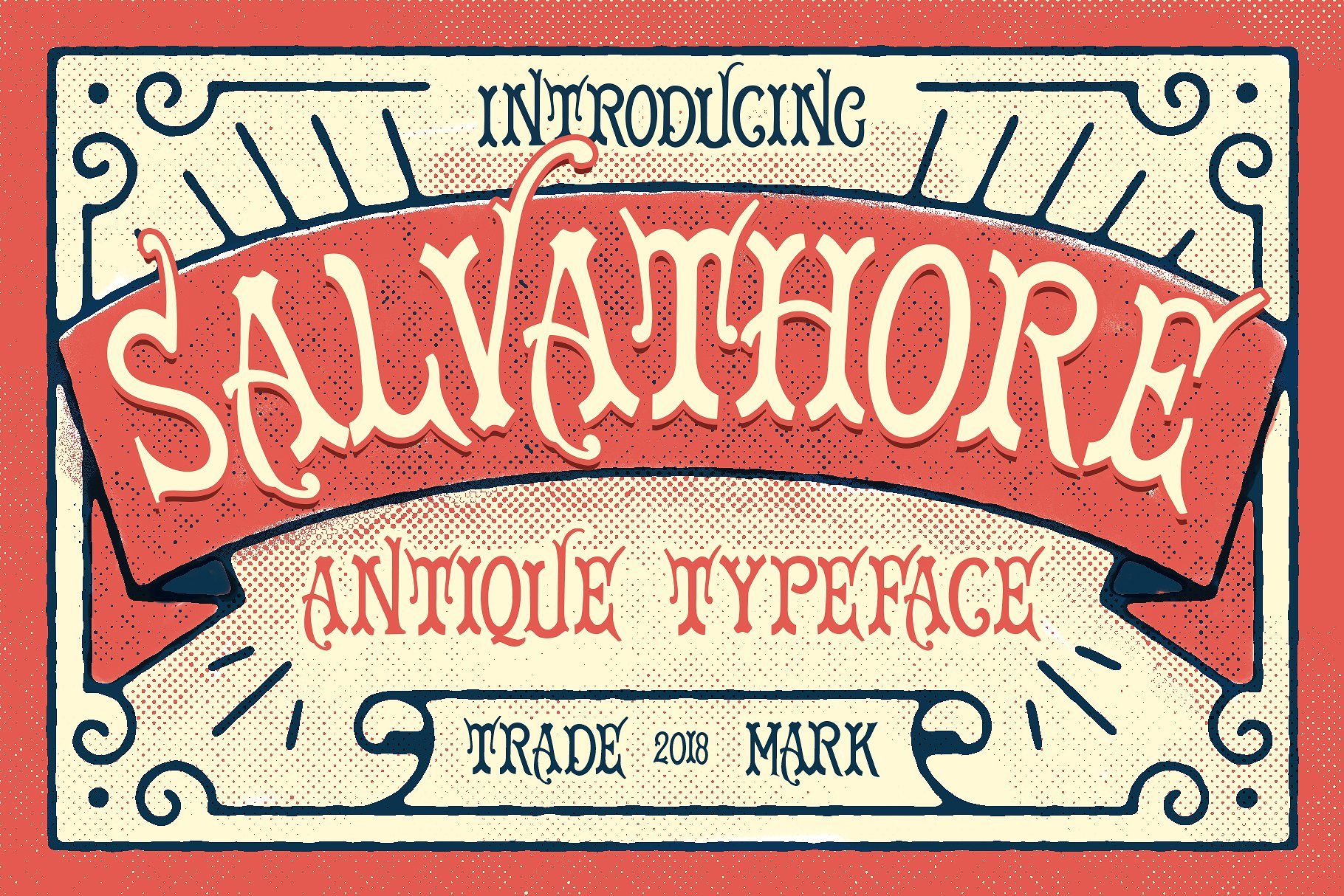 Print on Demand: Salvathore Display Font By bloomxxvi