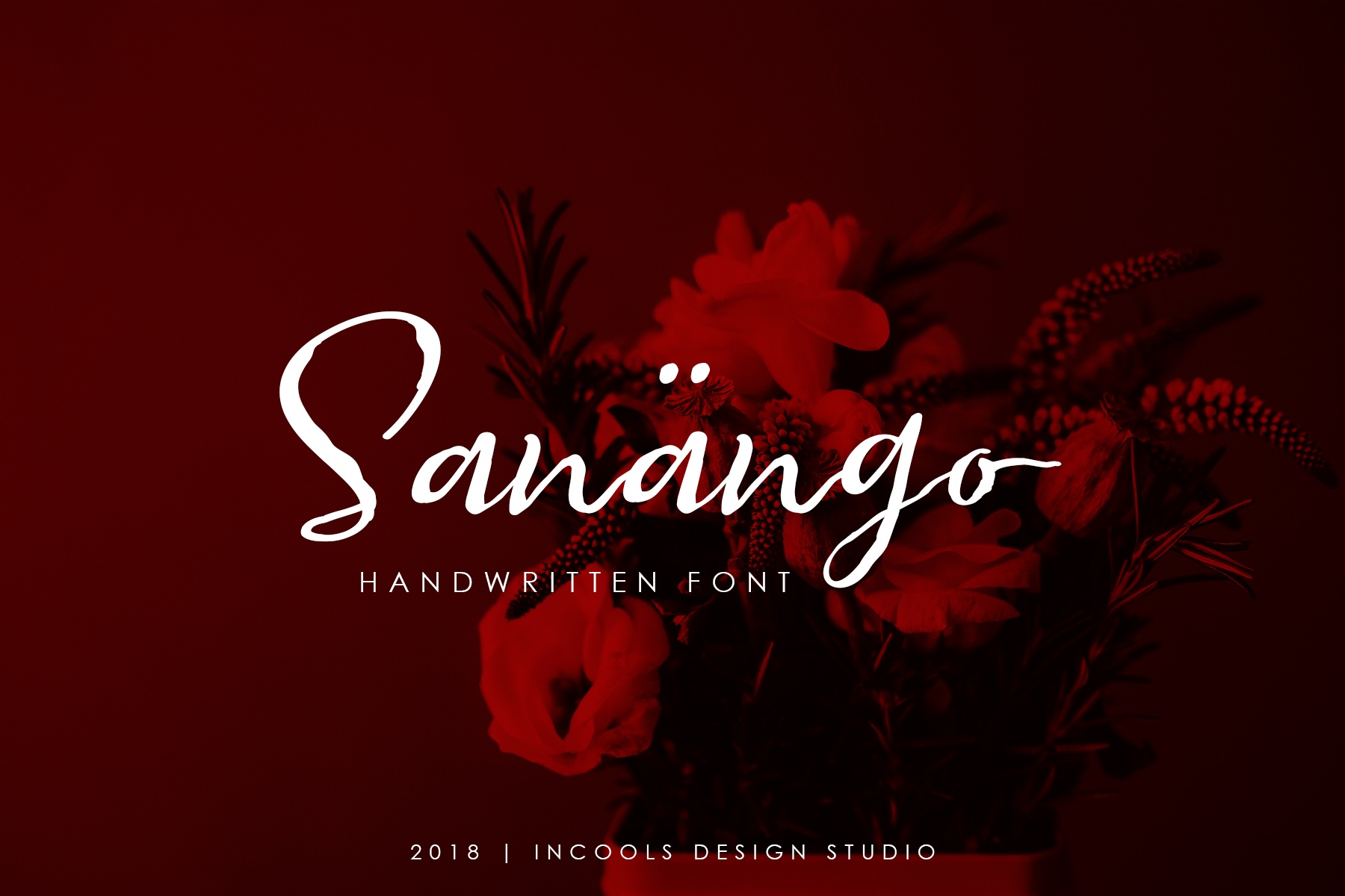 Print on Demand: Sanango Script & Handwritten Font By Incools Design Studio