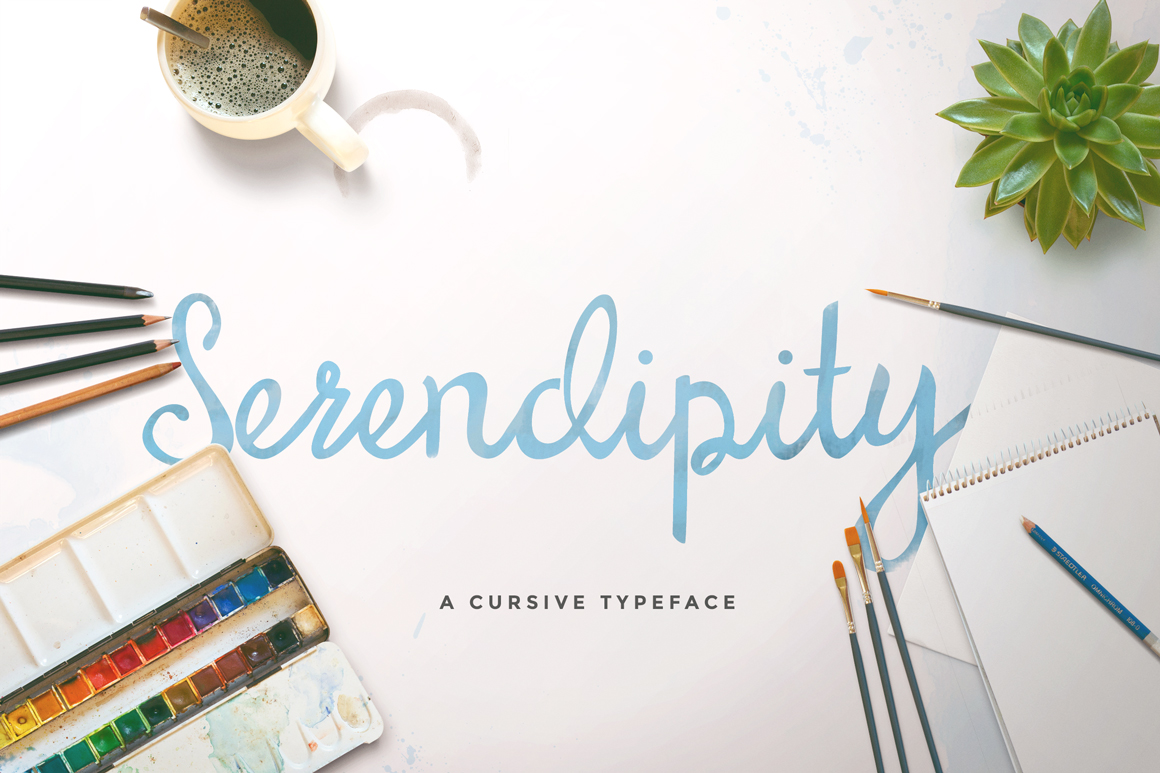 Print on Demand: Serendipity Manuscrita Fuente Por Maroon Baboon