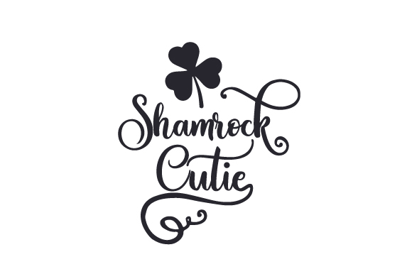 Download Free Shamrock Cutie Svg Cut File By Creative Fabrica Crafts for Cricut Explore, Silhouette and other cutting machines.
