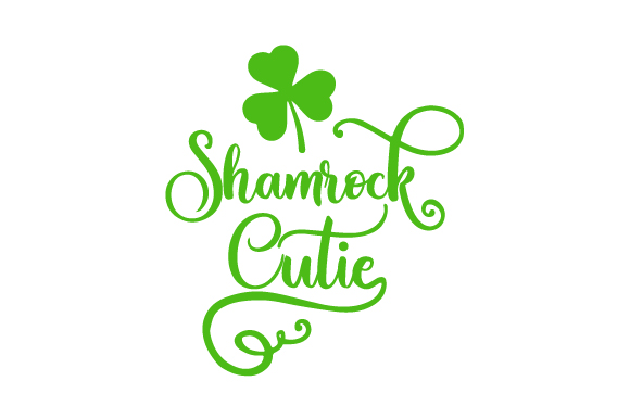 Shamrock Cutie Saint Patrick's Day Craft Cut File By Creative Fabrica Crafts