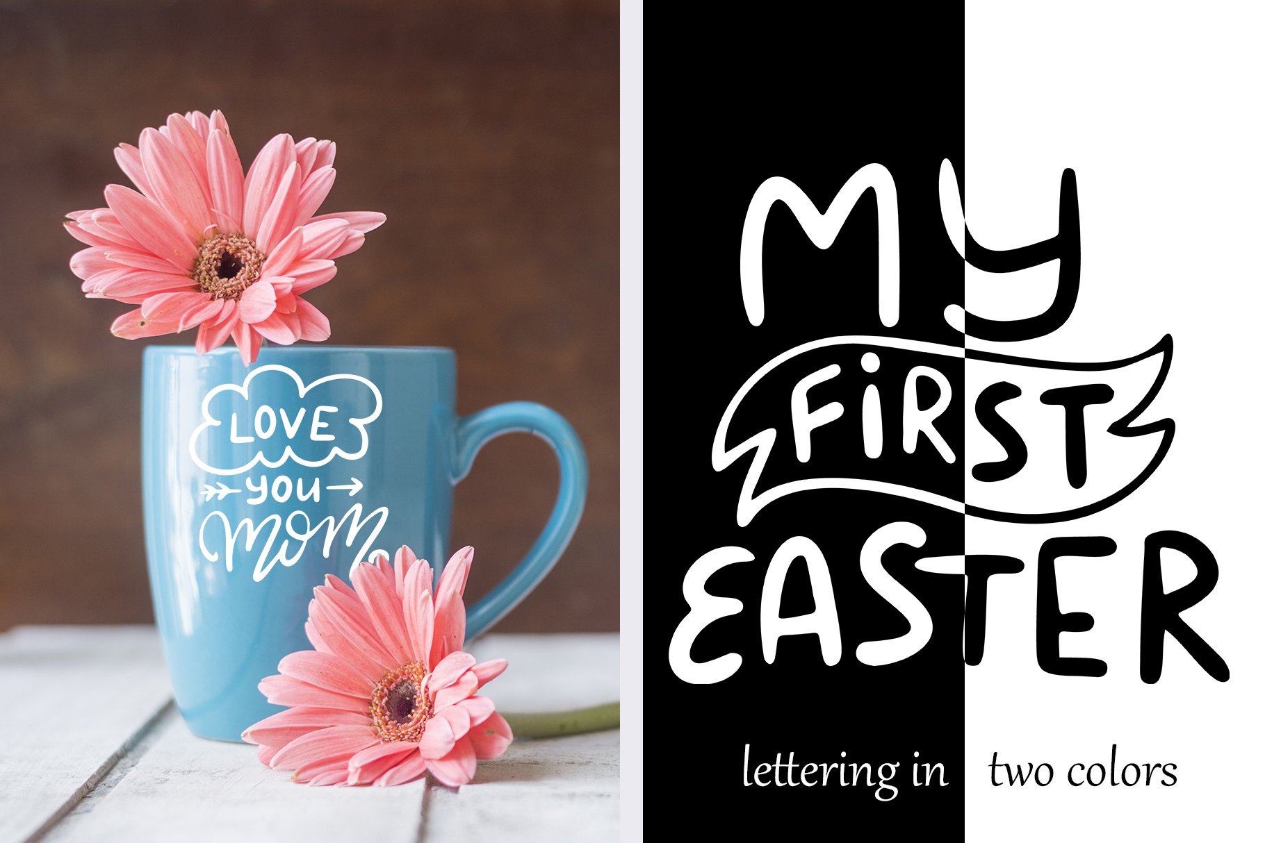 Spring Kit: Lettering and Clipart Graphic Illustrations By tregubova.jul - Image 3
