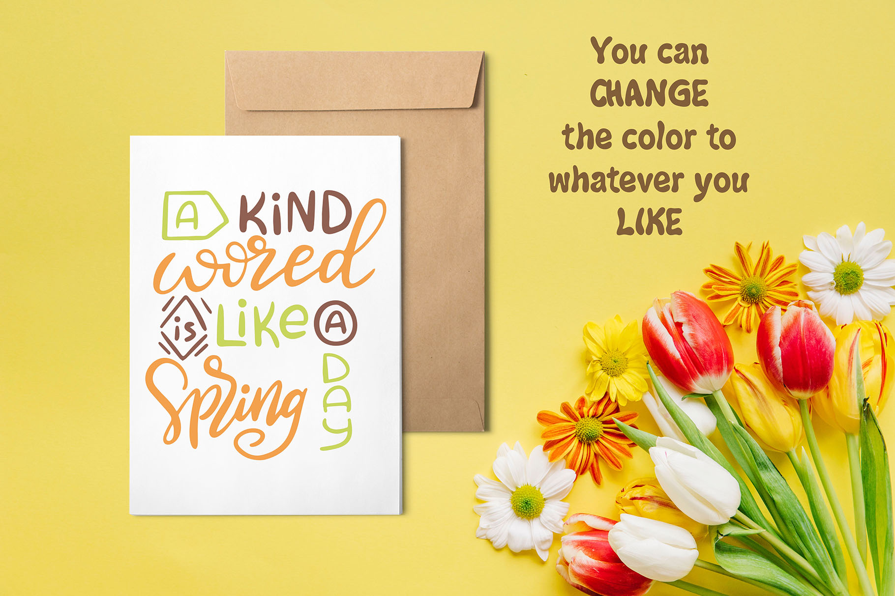 Spring Kit: Lettering and Clipart Graphic Illustrations By tregubova.jul - Image 8