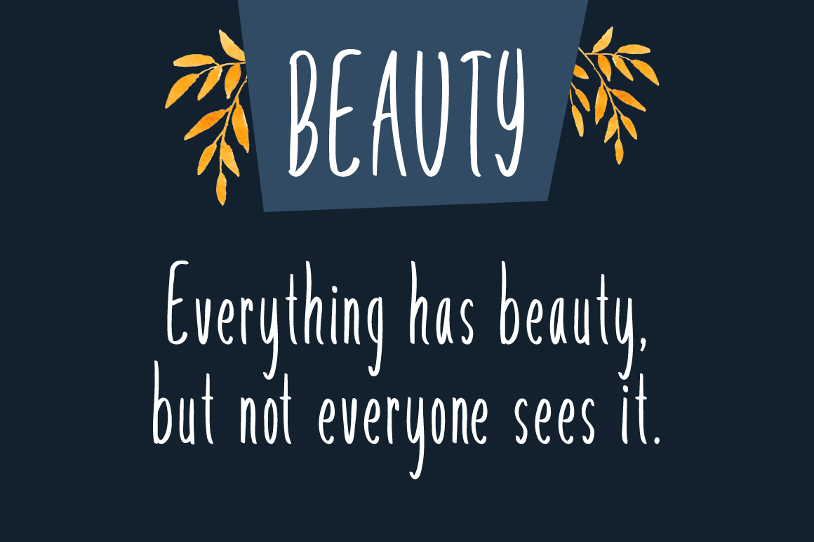 Stay Beautiful Font By No Gravity Type Image 2
