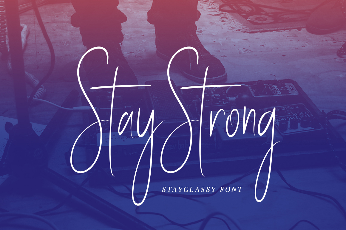 Print on Demand: Stay Classy Script & Handwritten Font By Solidtype - Image 13