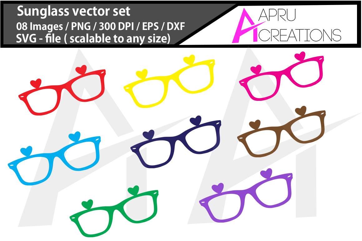 Sunglasses SVG Cut File Graphic By aparnastjp