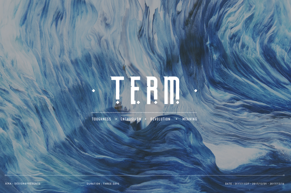 Print on Demand: Term Free Font Font By Creative Fabrica Freebies - Image 1