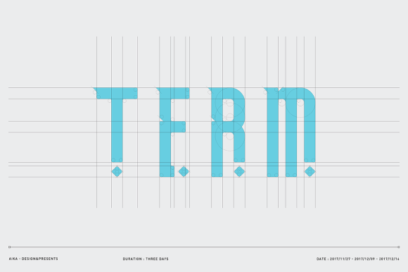 Print on Demand: Term Free Font Font By Creative Fabrica Freebies - Image 4