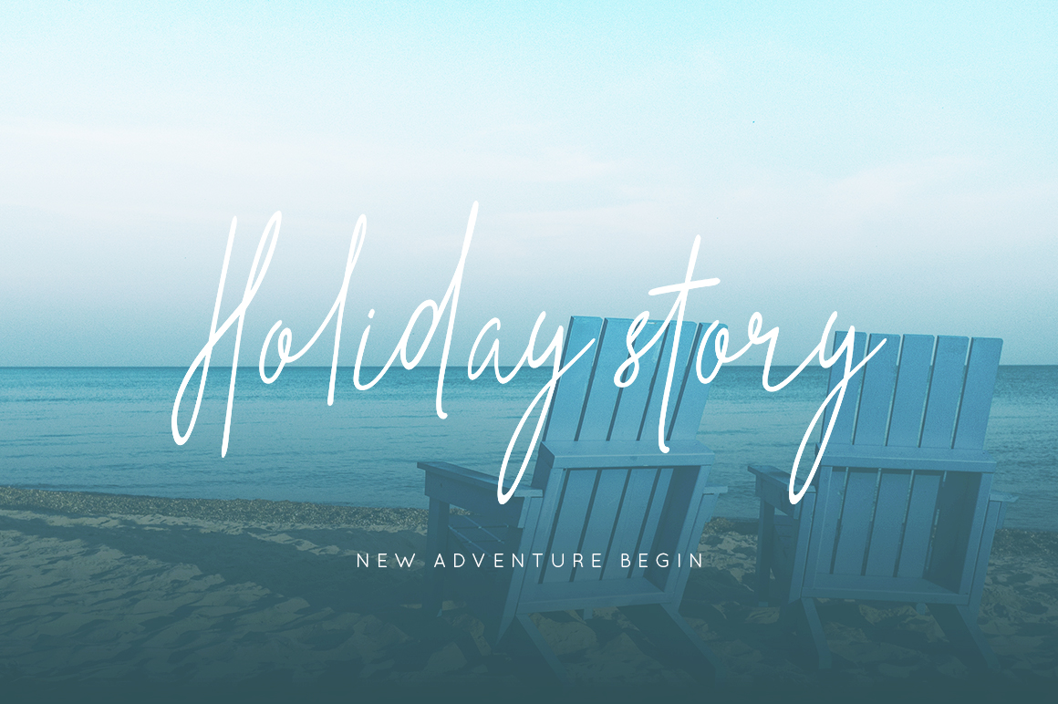Print on Demand: The Hand Style Script & Handwritten Font By No Gravity Type - Image 5