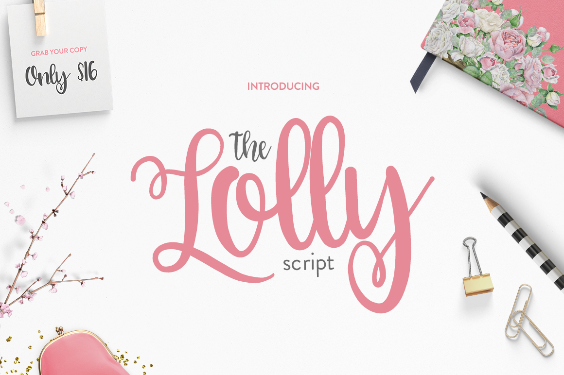 Print on Demand: The Lolly Script & Handwritten Font By Maroon Baboon