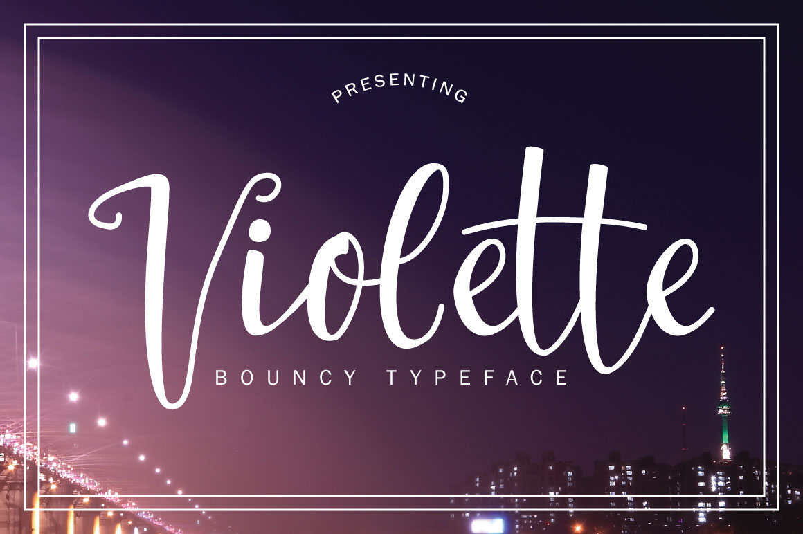Print on Demand: Violette Script & Handwritten Font By No Gravity Type - Image 1