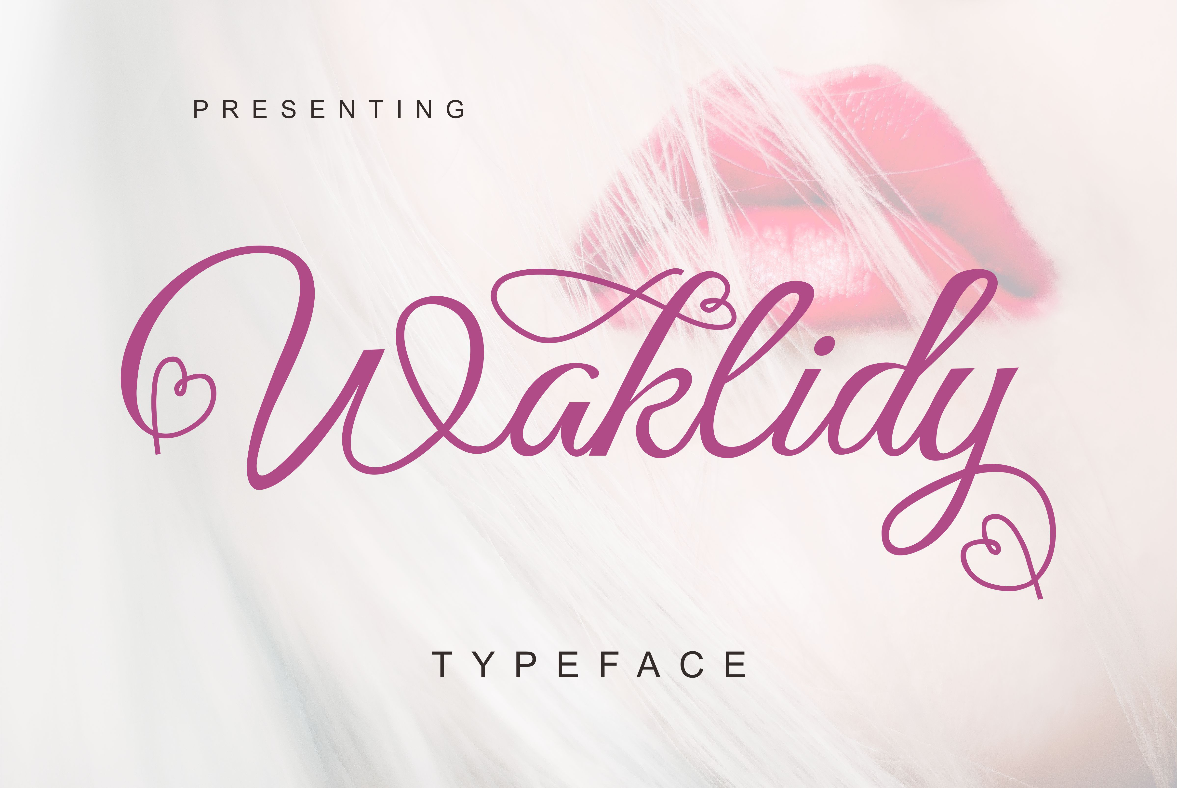 Print on Demand: Waklidy Script & Handwritten Font By No Gravity Type