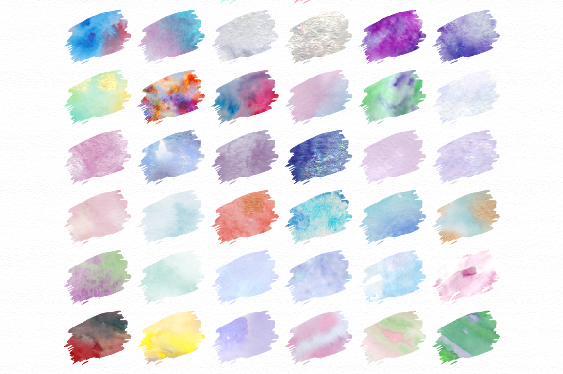 Print on Demand: Watercolor World - Photoshop Styles & Brushes Graphic Layer Styles By Red Ink - Image 3