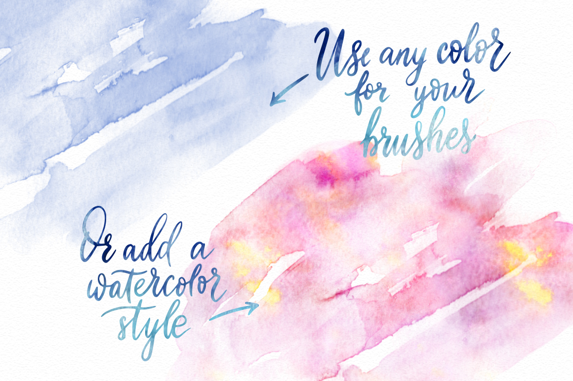 Print on Demand: Watercolor World - Photoshop Styles & Brushes Graphic Layer Styles By Red Ink - Image 6