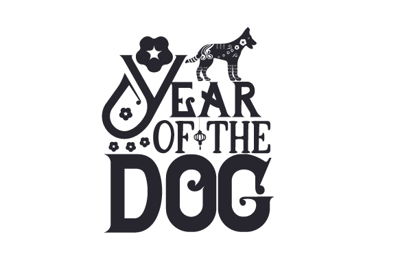 Download Free Year Of The Dog Svg Cut File By Creative Fabrica Crafts for Cricut Explore, Silhouette and other cutting machines.