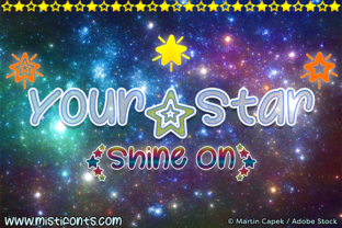 Your Star Font By Misti