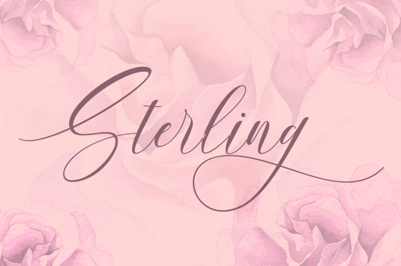 Sterling Script & Handwritten Font By No Gravity Type