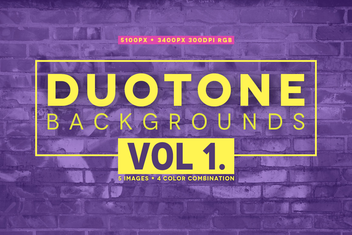 20 Duotone Backgrounds Graphic Backgrounds By andesign