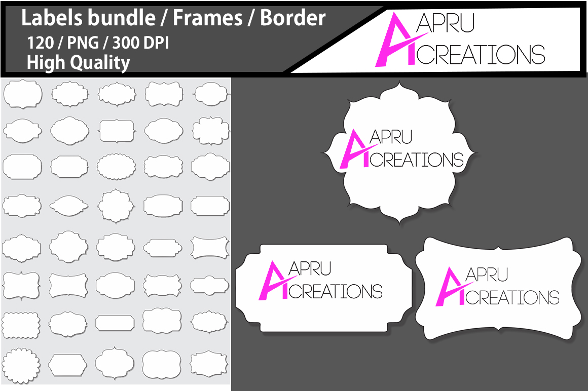 Download Free 3d Frames Clipart Graphic By Aparnastjp Creative Fabrica for Cricut Explore, Silhouette and other cutting machines.