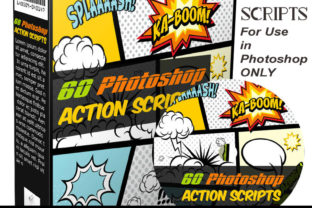 60 PhotoShop Actions Graphic By Sojournstar