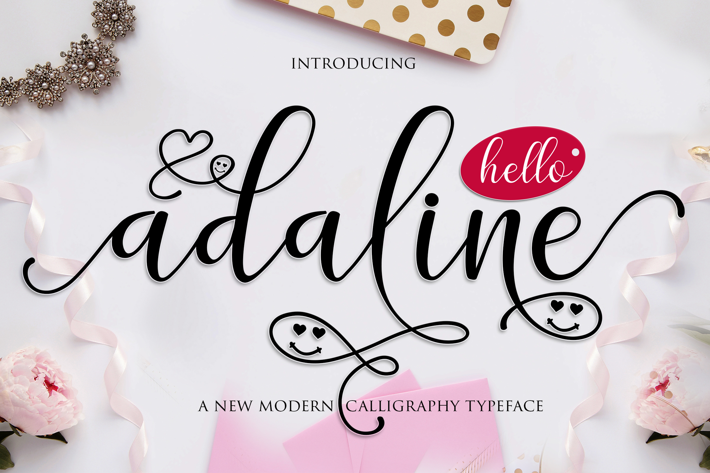 Print on Demand: Adaline Script & Handwritten Font By Mrletters - Image 3