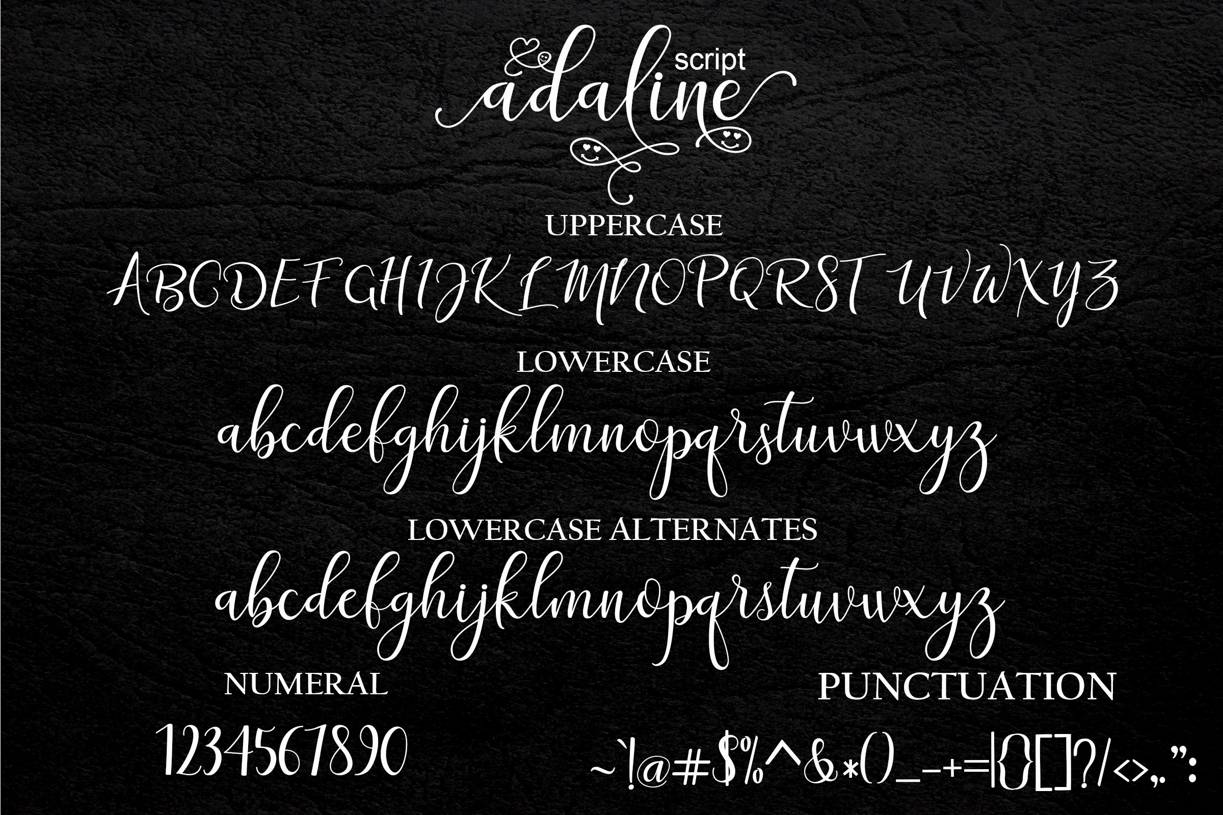 Print on Demand: Adaline Script & Handwritten Font By Mrletters - Image 9