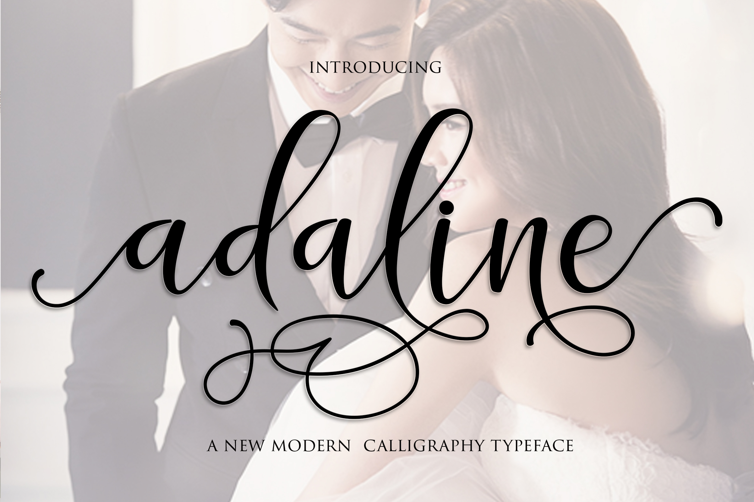 Print on Demand: Adaline Script & Handwritten Font By Mrletters - Image 1