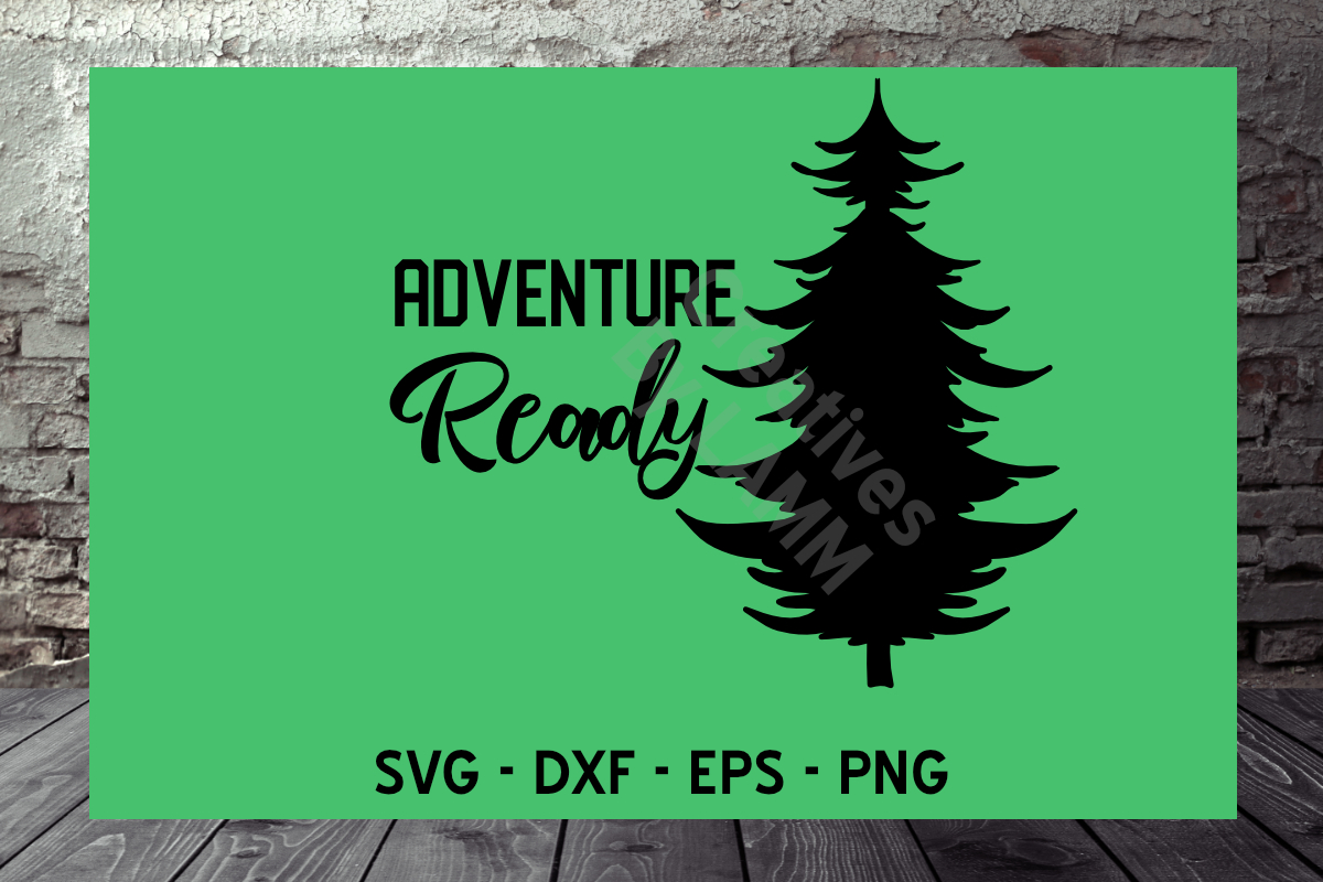 Download Free Adventure Ready Grafico Por Creatives By Lamm Creative Fabrica for Cricut Explore, Silhouette and other cutting machines.