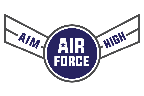 Air Force - Aim High Military Craft Cut File By Creative Fabrica Crafts