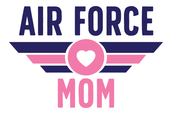 Air Force Mom Military Craft Cut File By Creative Fabrica Crafts