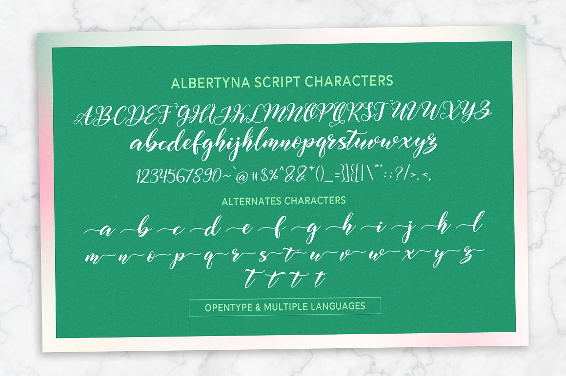 Albertyna Font By Solidtype Image 12