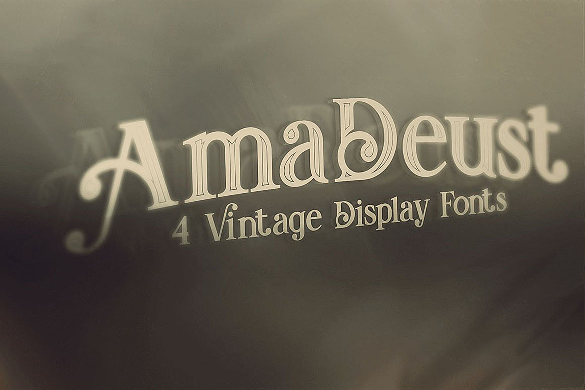 Print on Demand: AmaDeust Display Font By JumboDesign - Image 6